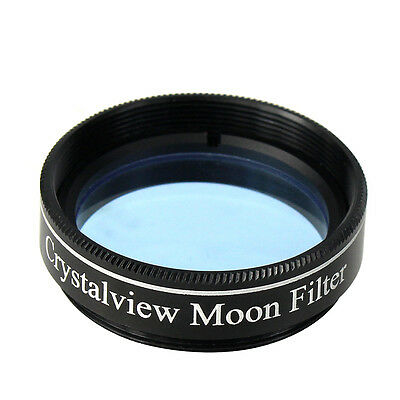 "Standard 1.25"" Crystalview Moon Filter for  Eyepiece Eliminate Street Light Smog"