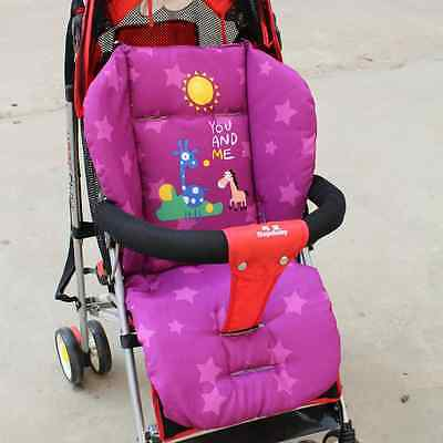 Baby Car Pad Thick Stroller Mat Breathable Seat Cushion Thick Mattress Infant