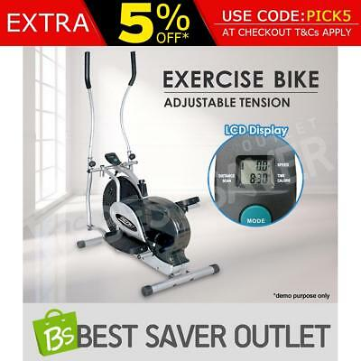 Exercise Bike Workout Fitness Elliptical Cross Trainer Step Stepper Machine GYM