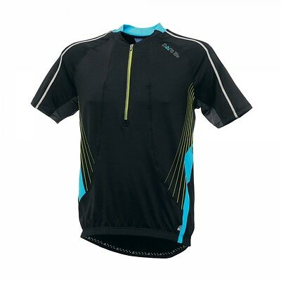 Dare 2b Mens Offshot Cycling Riding Wicking T-shirt Top Jersey Black Medium