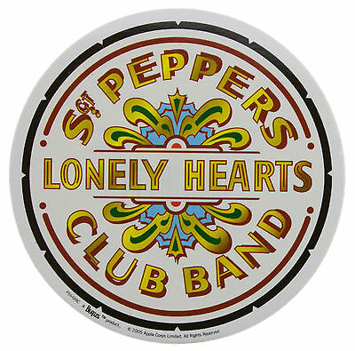 The Beatles Sgt Peppers Club Band Logo Sticker New Official Band Merch PS6489C
