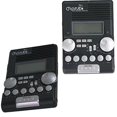 Cherub Digital Metronome Electronic For Drummer Percussion Rhythm Tempo Beat