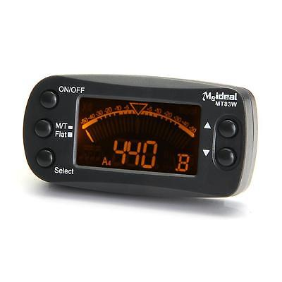 Clip-On Digital Electronic Tuner Metronome Beat LCD Chromatic Guitar/Bass/Violin
