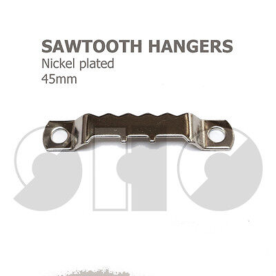 Picture Hoocks - SawTooth Hanger 45mm for picture hanging