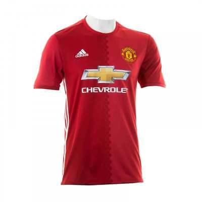 Adidas Performance Mens Manchester United Home 16/17 Football Shirt (Real Read)