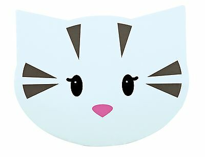 Mimi Place Mat for Cat Bowls Cat Face Non-Slip Feeding Mat