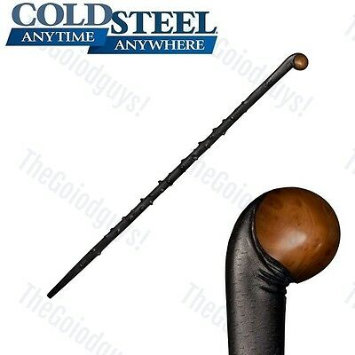 "Cold Steel - IRISH BLACKTHORN STAFF 59"" Long (Polypropylene) 91PBST New"