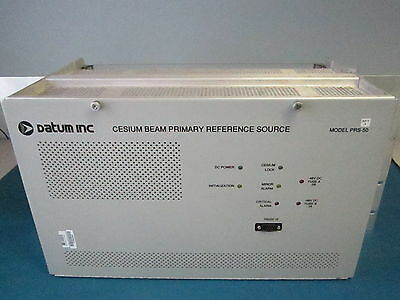 DATUM PRS-50 REV A Cesium Beam Primary Reference Source w/ 090-40002-01