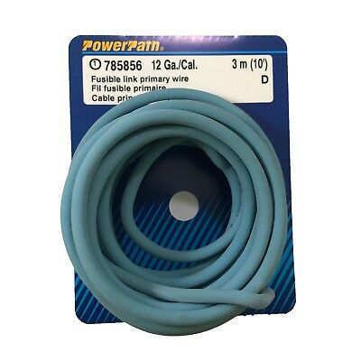 fusible link primary ground wire 18 gauge 10ft protects wiring circuit nos  - usa