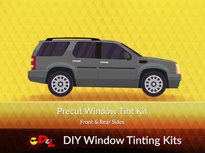 Pre-cut Window Tint Kit - Sides Only for ALL VEHICLES