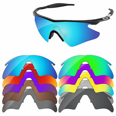 PapaViva Polarized Replacement Lenses For-Oakley M Frame Heater Multi-Options