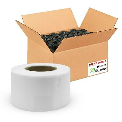 100 Rolls of 30251 Compatible Address Labels for DYMO® 1-1/8'' x 3-1/2''