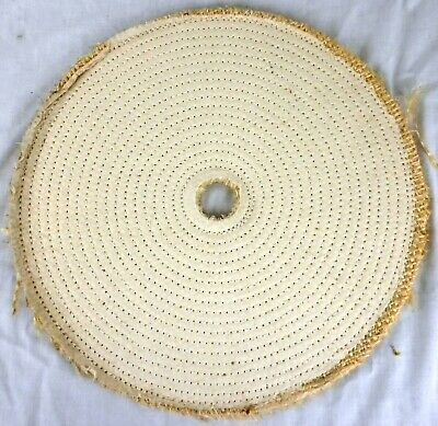 "Lot of 30 16""x1 1/2""  Arbor Hole Cloth & Sisal 7-Ply Industrial Buffing Wheels"