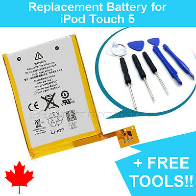 NEW Replacement Battery for iPod Touch 5 616-0621 1030mAh and FREE Repair Tools