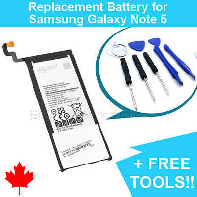 NEW Replacement Battery for Samsung Galaxy Note 5 3300mAh and FREE Repair Tools