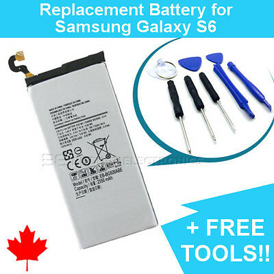 NEW Replacement Battery for Samsung Galaxy S6 EB-BG920ABE FREE Repair Tools