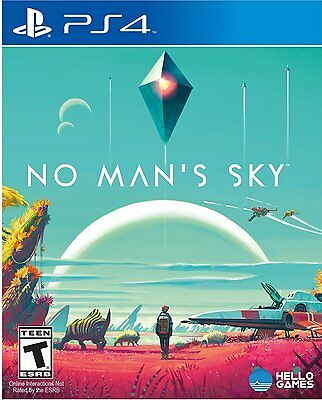 NEW No Man's Sky Regular Edition (Sony PlayStation 4, 2016)