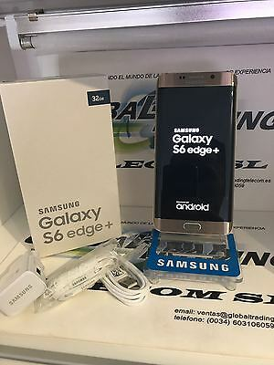Samsung Galaxy S6 Edge Plus Sm-G928F 32Gb  Oro Gold Perfecto Estado Grado A