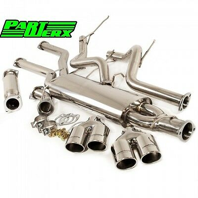 BMW X5 E53 3.0 DSL & Turbo Performance Cat Back Exhaust System Brand New