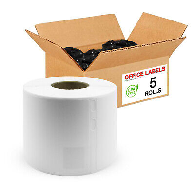 5 Rolls of 30323 Compatible Shipping Labels for DYMO® 2-1/8'' x 4''