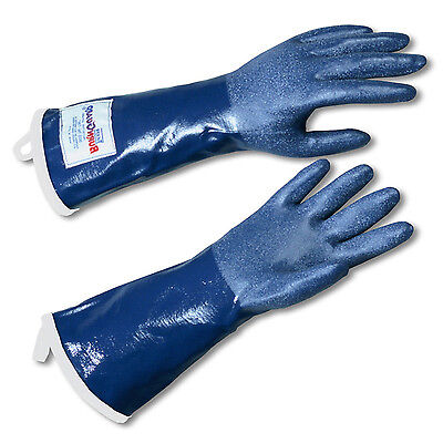 """SteamGlove Steamguard Cleaning Glove Blue 20"""" Extended Cuff - Steam Protection"""