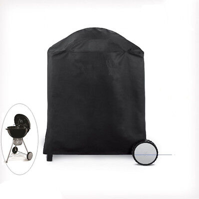 Kettle Round BBQ Cover Waterproof 50-70cm H85D70cm UV Fix-hole Barbecue 95003001