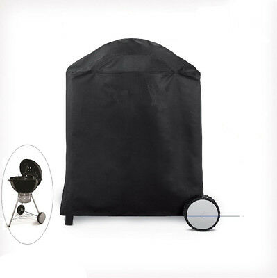 Waterproof BBQ Cover Round 70*85cm Kettle 50-70cm Barbecue UV Fix-hole 95003001