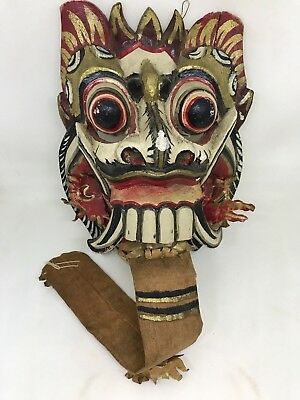 Vintage Asian Dragon Mask