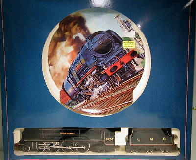 Hornby OO Royal Doulton LMS 4-6-2 City of St Albans Coronation Class IBH-34-SH