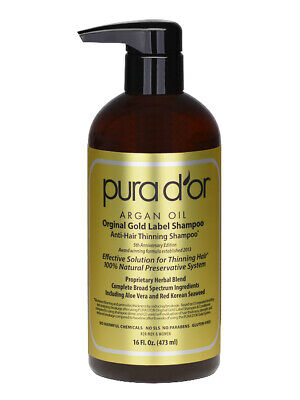 Pura D'or / Dor Gold Label Anti Hair Loss Shampoo - Australian Distributor