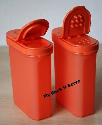 Tupperware Large  Modular Mates Spice Containers 2/ 250 ml New!!!