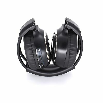 Infrared 2-channel headphones radio wirelessly for Car Monitor TV PC Smartphone