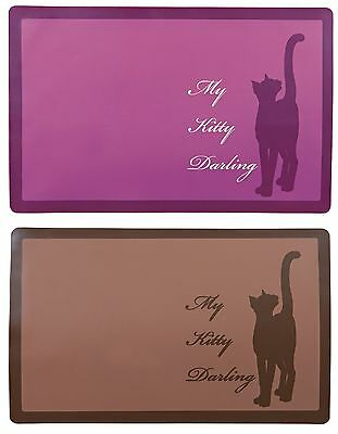 My Kitty Darling Place Mat for Cats & Kittens Non-Slip