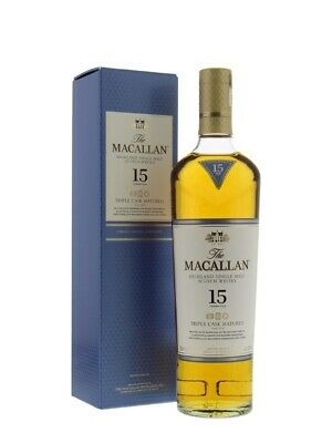 The Macallan 15 Year Old Scotch Whisky 700mL