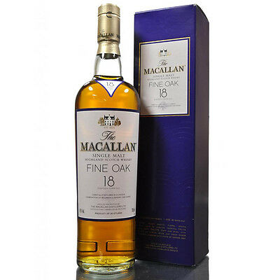 The Macallan 18 Year Old Fine Oak Scotch Whisky 700mL