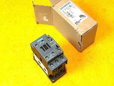***new** Siemens 3Rt2026-1Bb40  3-Pole 35 Amp 600 Volt Contactor 24 Vdc Coil
