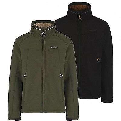 Craghoppers Moorside Mens Water & Wind Repellent Lined Softshell Jacket
