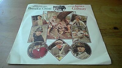 "James Galway ‎– Brendon Chase Theme - 7"" Vinyl Record Single"