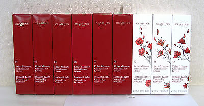 Clarins Instant Light Natural Lip Perfector - Various Colours see dropdown menu