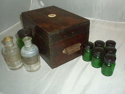 John Haddon & Co. London- Caxton Type Foundry- Vintage Letterpress Chemicals Box