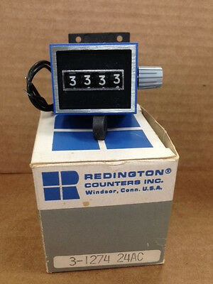 Redington 3-1274 31275  Electromechanical Totalizer Counter 24VAC NEW IN BOX