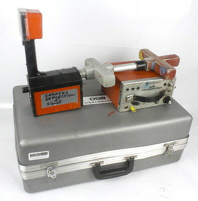 Metrotech 850 Pipe & Cable Utility Locator Transmitter and Receiver with Case #3