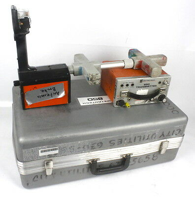 Metrotech 850 Pipe & Cable Utility Locator Transmitter and Receiver with Case #2