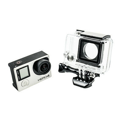 45M Underwater Waterproof Diving Protective Housing Clear Case For GoPro Hero 4