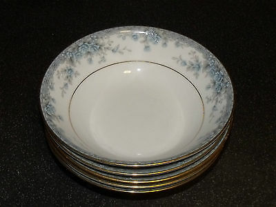 Noritake Avalon Contemporary China 5 X Cereal Bowls