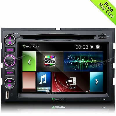 """Eonon 7"""" 2DIN Car DVD Player GPS Stereo Radio Touch Screen for Ford F150 F-150 o"""