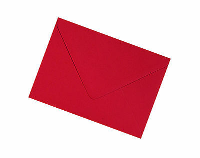 C7 Scarlet Red Envelopes 100gsm - All Quantities