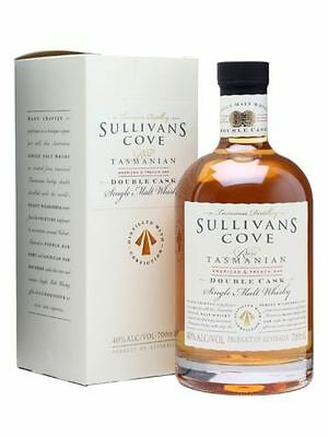 Sullivans Cove Double Cask 700mL (40%ABV) - World's Best Single Malt Whisky