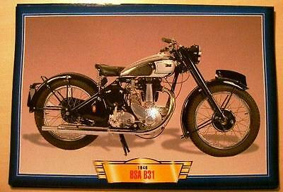 Bsa B31 350 Single 1946 Vintage Classic Motorcycle Classic Bike Picture 1940's