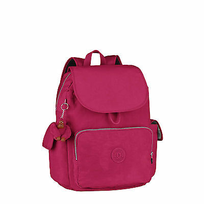 BNWT Kipling CITY PACK L Large Backpack/Rucksack BERRY Fall 2016 RRP £89